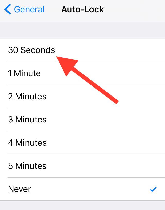 خاموش شدن خودکار موبایل اپل