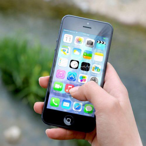 تنظیمات موبایل اپل